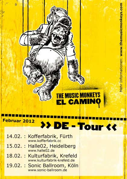 The Music Monkeys - LIVE - All Gigs